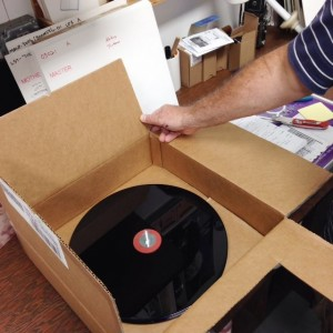 Pink Floyd The Endless River Vinyl Master in its shipping box, very exciting!