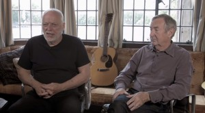 David Gilmour and Nick Mason on Astoria Recording Studio