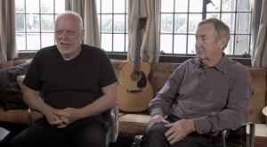 David Gilmour and Nick Mason on Astoria Recording Studio