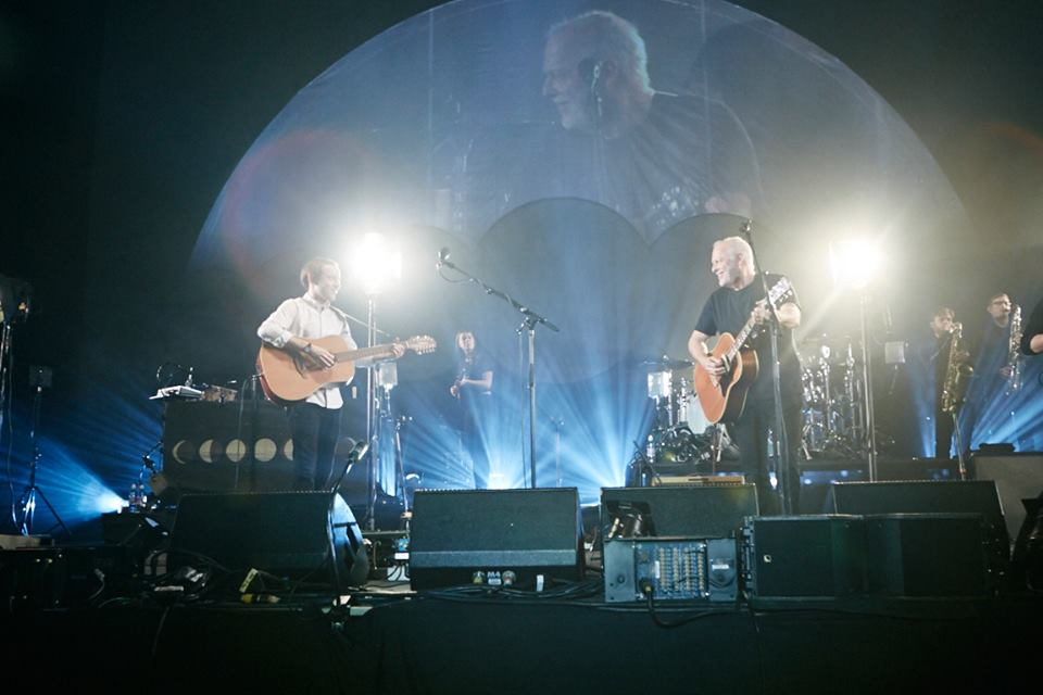 David Gilmour Bombay Bicycle Club Earls Court