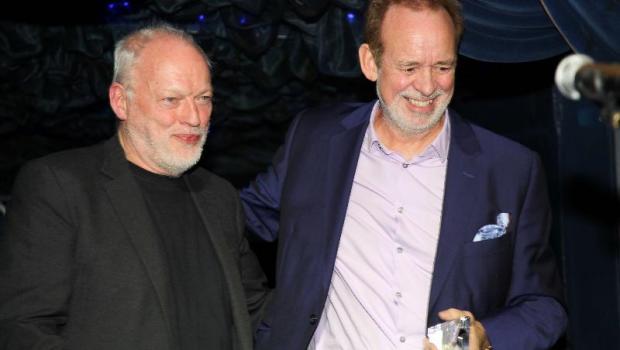 David Gilmour and Phil Manzanera