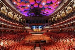 Royal Albert Hall Inside David Gilmour