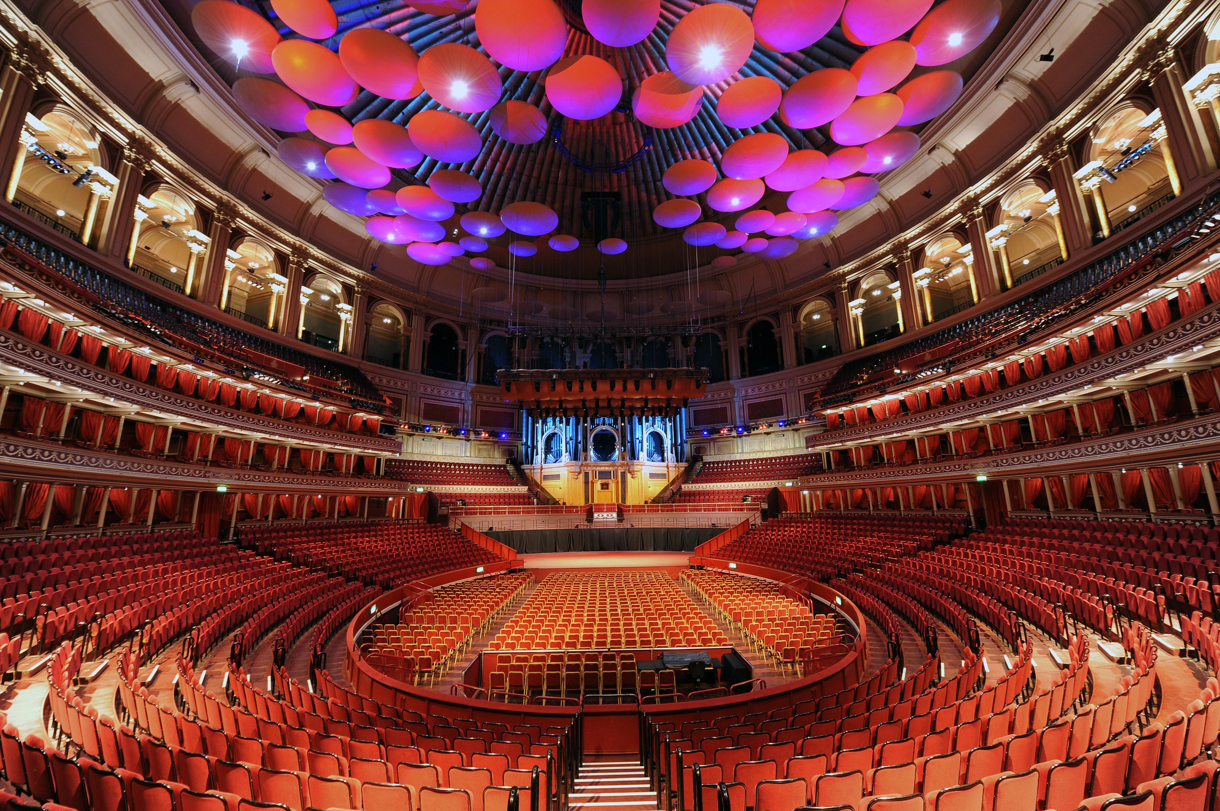Royal Albert Hall Inside David Gilmour