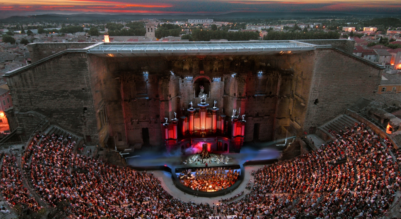 Theatre Antique d'Orange David Gilmour