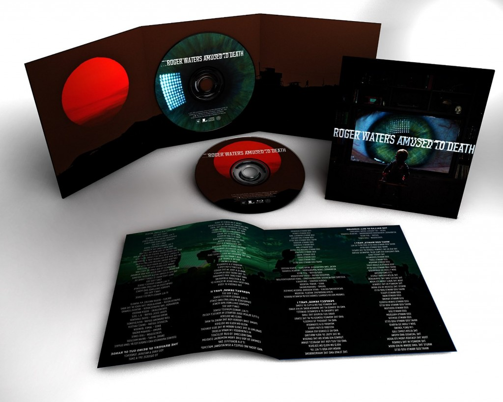 Roger Waters Amused To Death 2015 Remaster Inside Cover