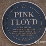 Pink Floyd Unveil Their Plaque At London University