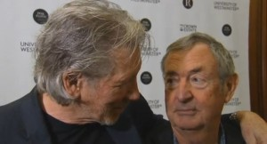 Roger Waters and Nick Mason Regent Street Polytechnic Plaque 2