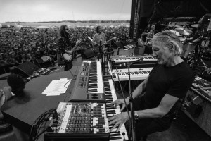 Roger Waters Newport Folk Festival 2015 Playing Piano