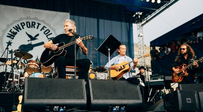 Roger Waters Newport Folk Festival 2015