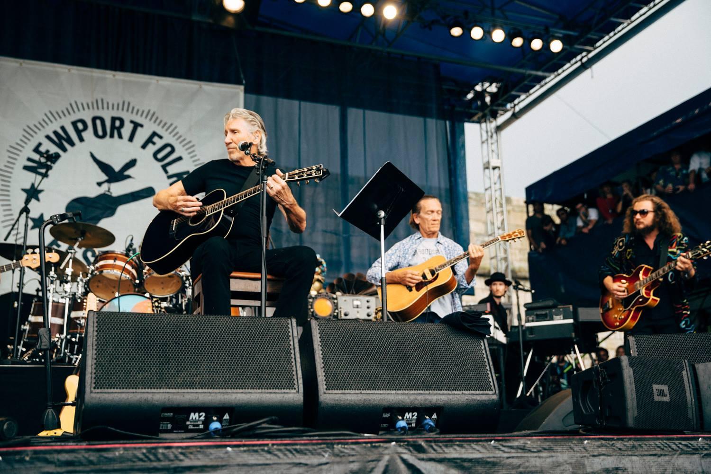 Roger Waters Newport Folk Festival 2015