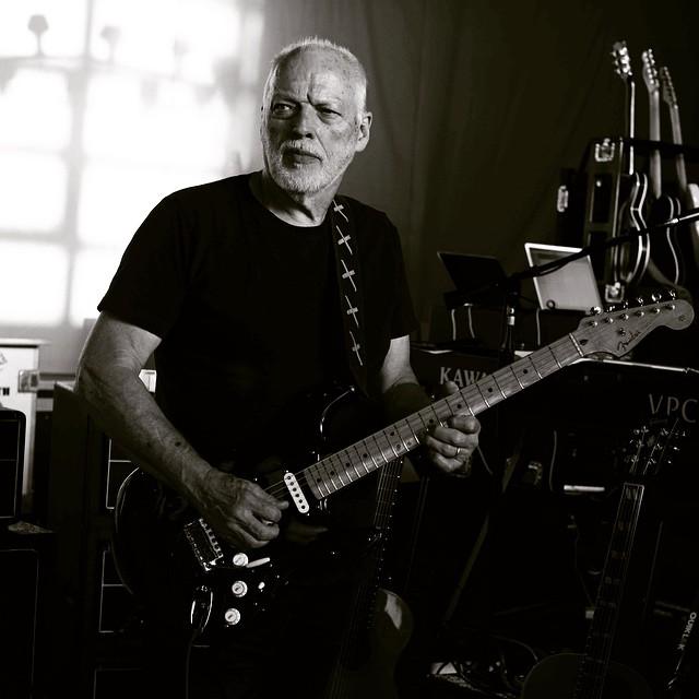 David Gilmour Guitar Rehearsals 2015