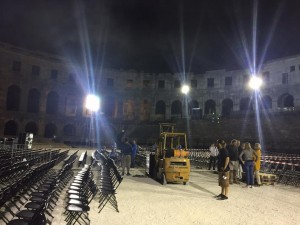 David Gilmour Pula Croatia 2015 Rehearsals (1)