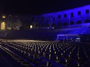 David Gilmour Pula Croatia 2015 Rehearsals (2)