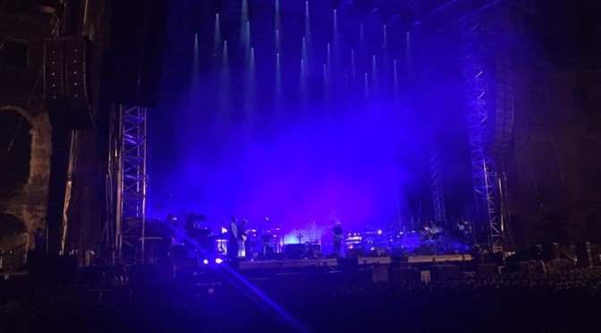 David Gilmour World Tour Starts Tonight – Glimpse Rehearsal Photos