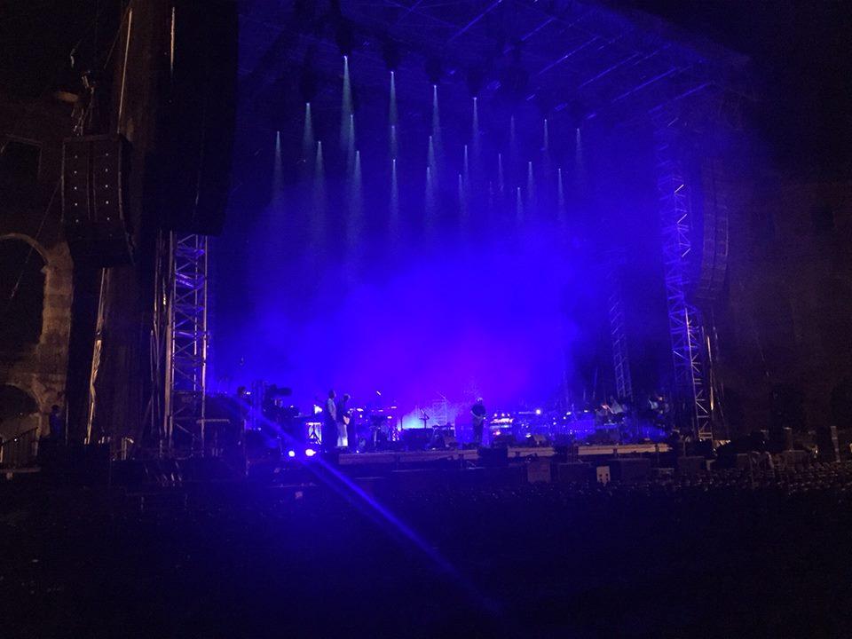 David Gilmour Pula Croatia 2015 Rehearsals (4)