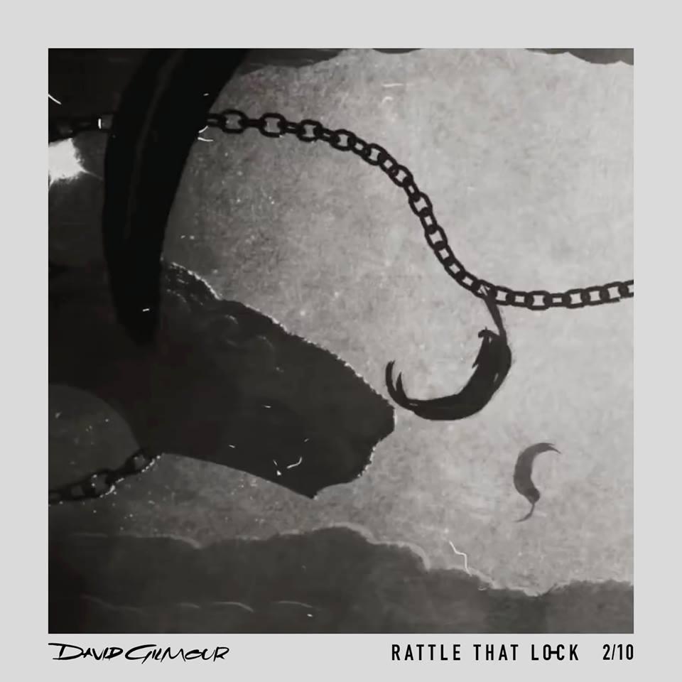 David Gilmour Rattle That Lock Album Artwork