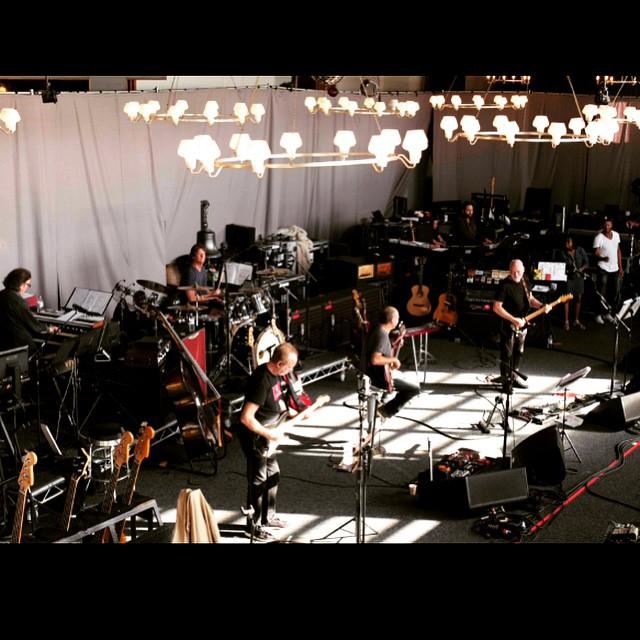 David Gilmour Rehearsal 2015