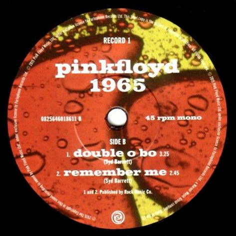 Pink Floyd Recordings 1965 - 2 Double O Bo Remember Me