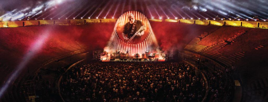 David Gilmour Pompeii 2016