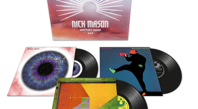 Nick Mason Unattended Luggage Box Set 2018