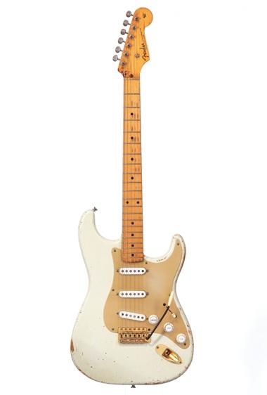 White Fender Stratocaster David Gilmour