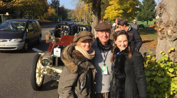 Nick Mason Drive from London to Brighton – Veteran Car Run 2019