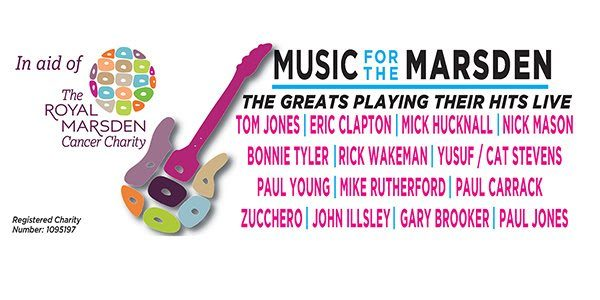 Nick Mason In Massive London Charity Concert