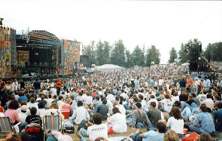 Pink Floyd Knebworth, England in 1990