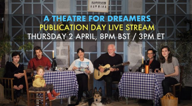 David Gilmour and Polly Samson Live Video Event 2nd April