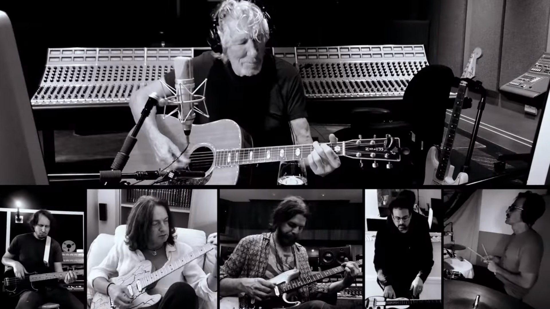 Roger Waters Mother on Lockdown Band Grid