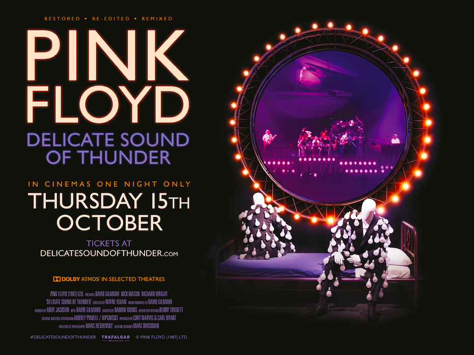 Pink Floyd Delicate Sound of Thunder : Trafalgar Releasing Cinema