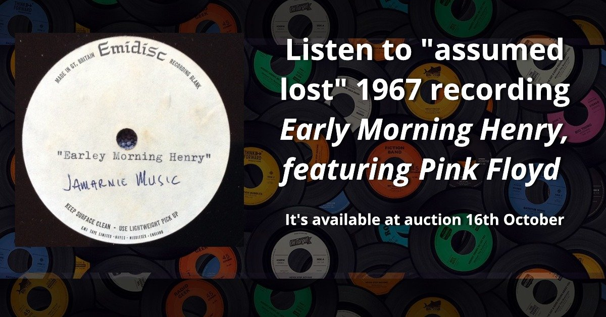 Early Morning Henry featuring Pink Floyd 1967