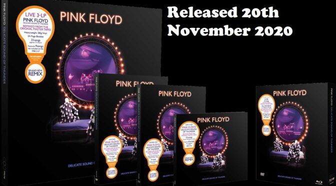 Pink Floyd Delicate Sound of Thunder Epic Concert Released, Order Now