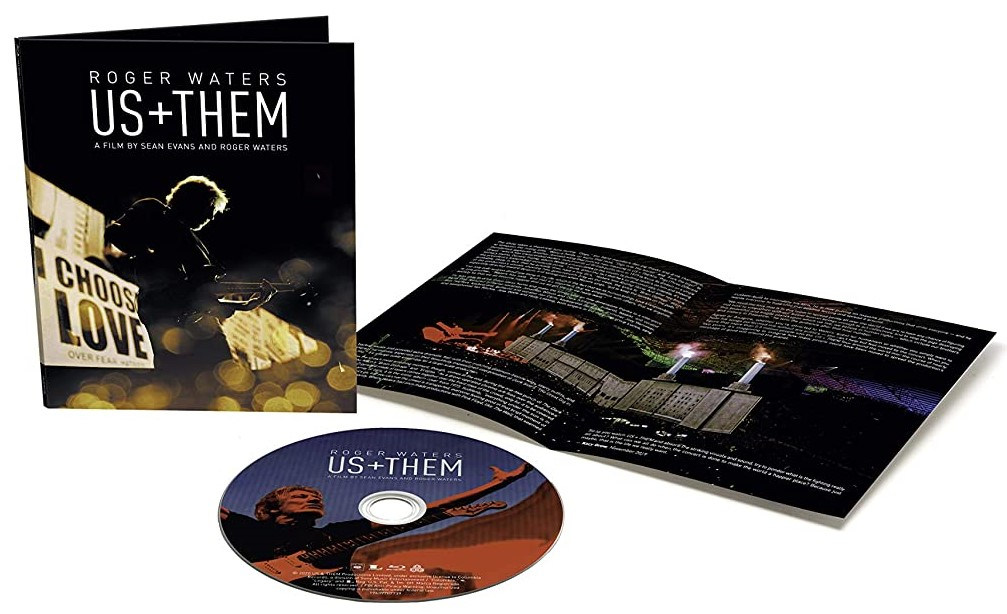 Roger Waters Us + Them Bluray 4K DVD
