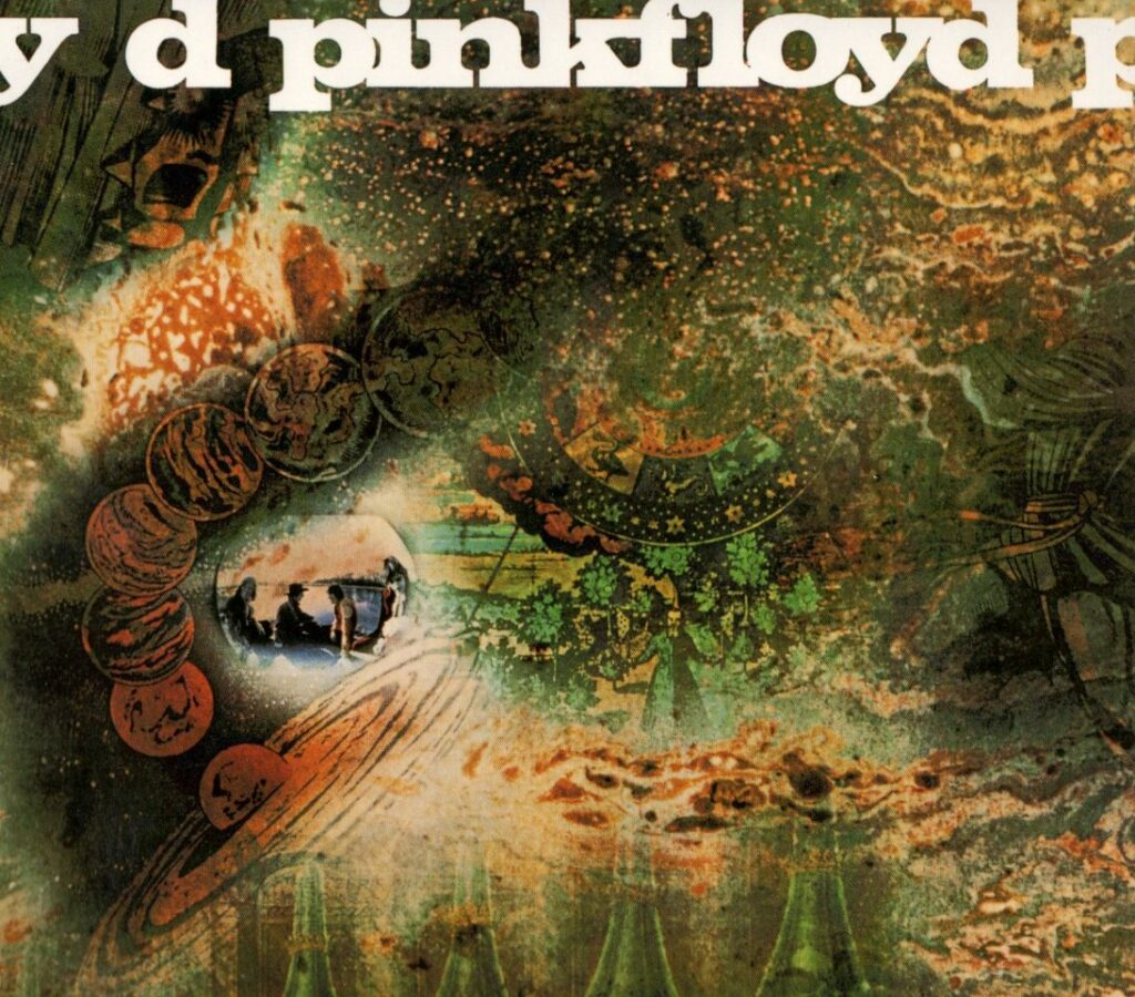 1968 Pink Floyd A Saucerful of Secrets - Front Cover
