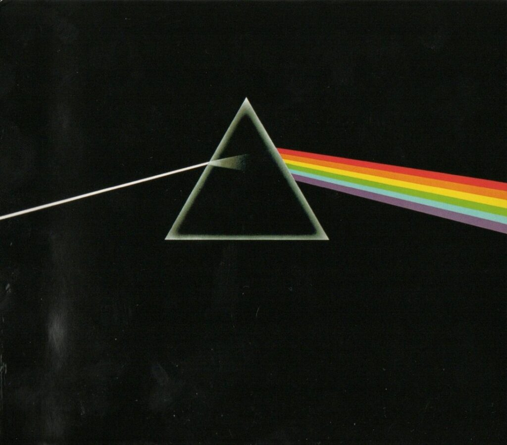 1973 Pink Floyd Dark Side of the Moon - Front Cover