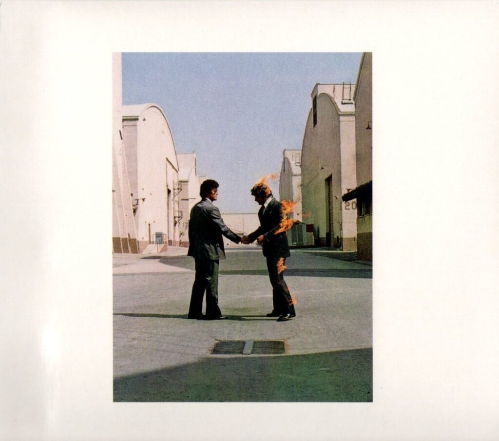 1975 Pink Floyd Wish You Were Here - Front Cover
