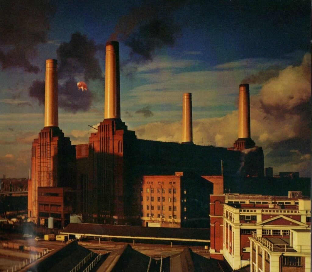 1977 Pink Floyd Animals - Front Cover