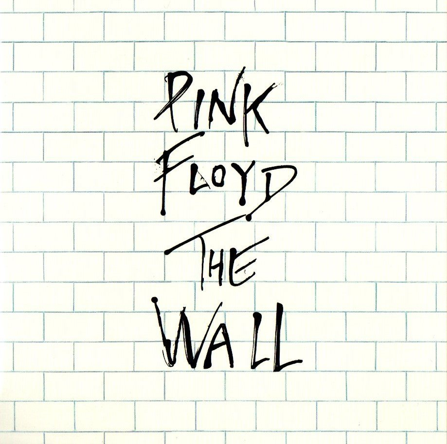 1979 Pink Floyd The Wall - Front Cover