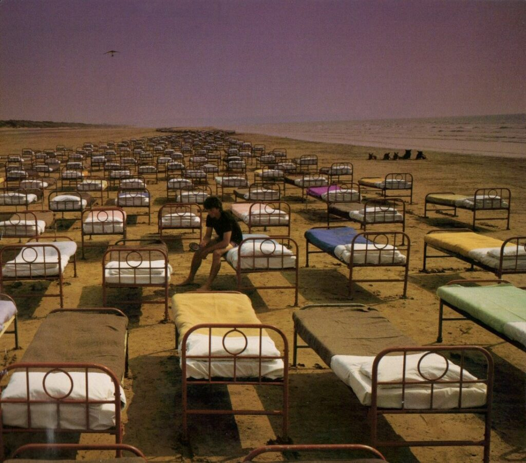 1987 Pink Floyd A Momentary Lapse of Reason - Front Cover