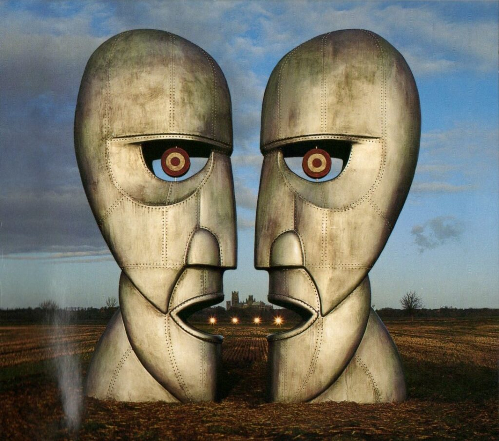 1994 Pink Floyd The Division Bell - Front Cover