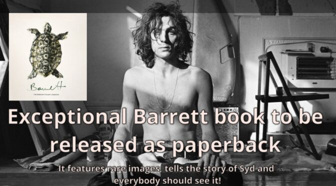 Syd Barrett Book Available as Paperback
