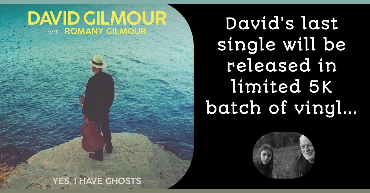 David Gilmour Yes I Have Ghosts Vinyl RSD