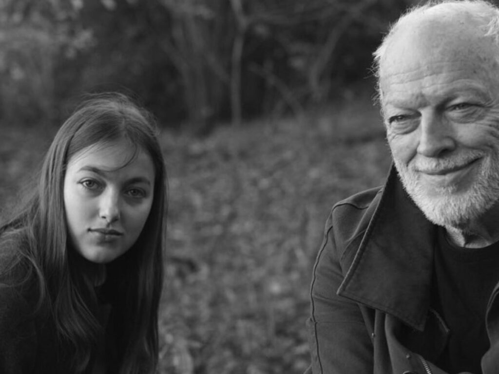David Gilmour and Daughter Romany Gilmour