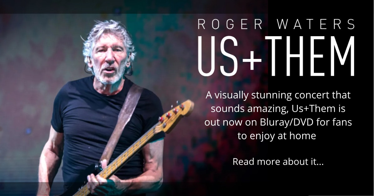 Roger Waters Us and Them Concert Film DVD Bluray