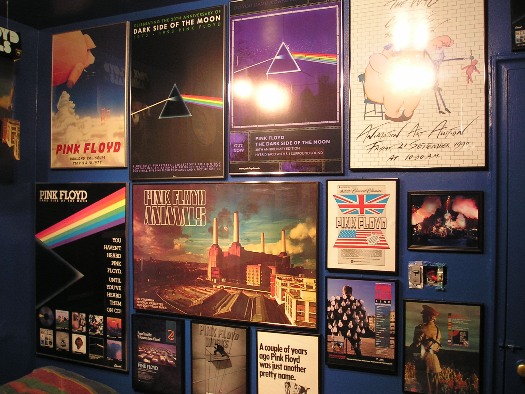 Pink Floyd Memorabilia Collections