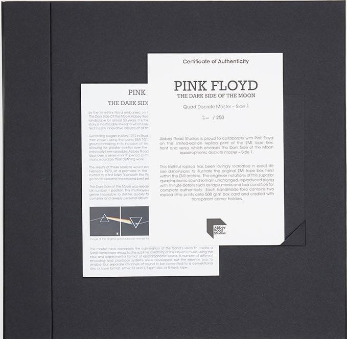 EMI Tape Box Folio Pink Floyd 5