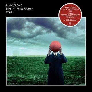 Pink Floyd Live at Knebworth 1990 LP Cover