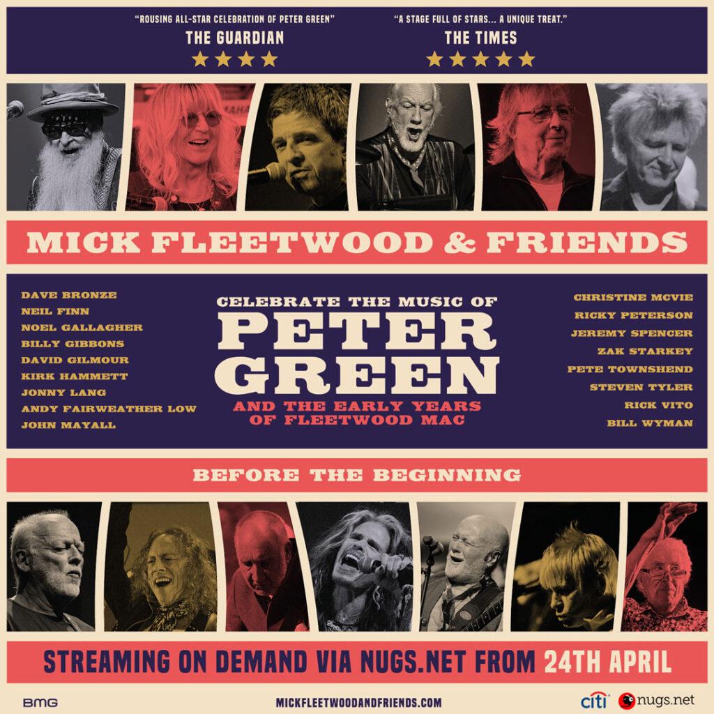 David Gilmour Mick Fleetwood Live Stream April 2021 v2
