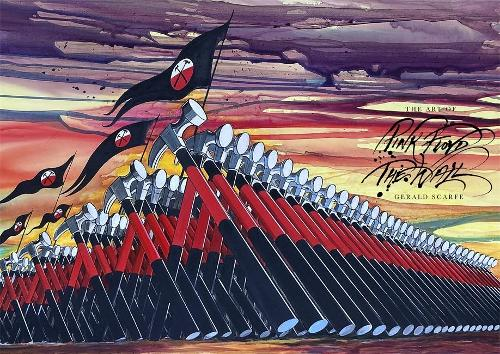 The Art of Pink Floyd The Wall Book Gerald Scarfe